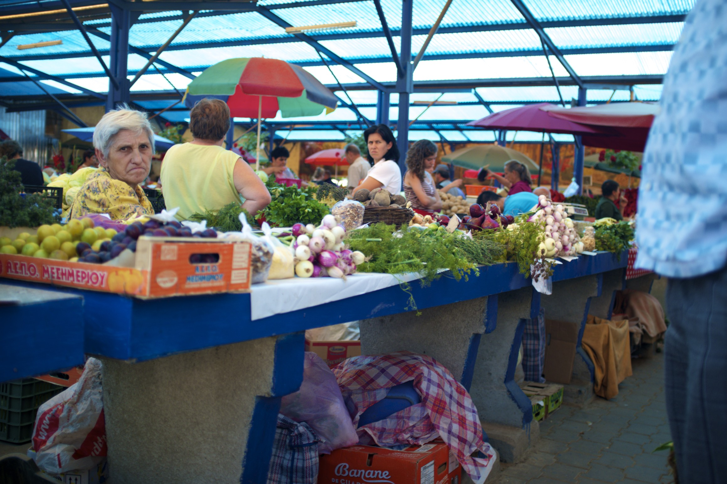 # a day at the market